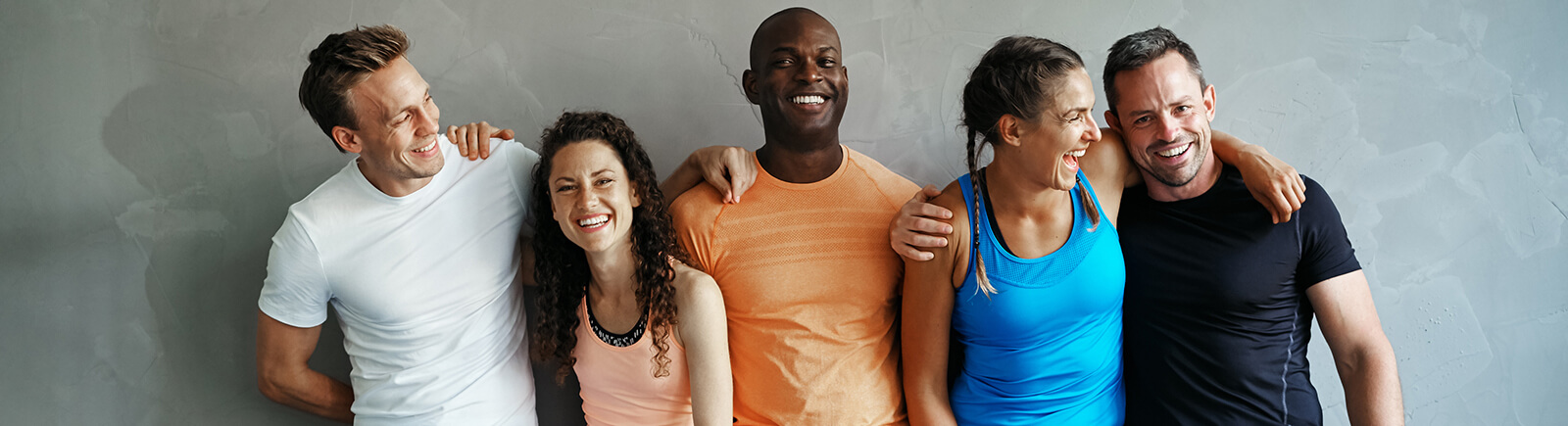 happy healthy people with UK health insurance