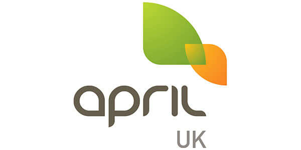 April UK logo
